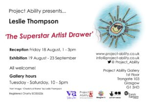 Leslie Thompson, the Superstar Artist Drawer 9