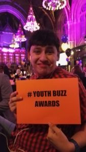 NEWS: Justin Lees Winner of Youth Buzz Awards