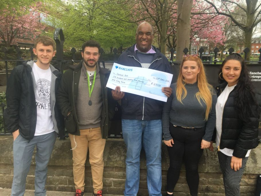 Fundraising | MMU Fundraise £675 for Venture Arts through Tiki Event