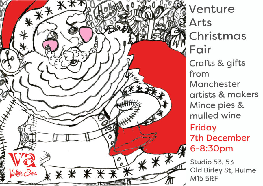 EVENT | Venture Arts Christmas Fair | 7 December 6-8:30pm