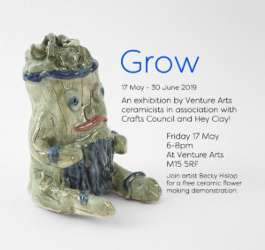 Grow | An exhibition of ceramics in association with Craft Council and Hey Clay! 2019 3
