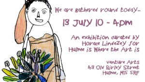 EVENT & EXHIBITIONS | Manifest Arts Festival & Hulme Is Where the Art Is | 13 July 10am-5:30pm 2019