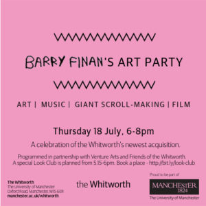 EVENT | Look Club and Thursday Late at the Whitworth | 18 July 2019