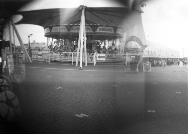 Terry Williams, 'Southport Fairground', pinhole photograph, 2017