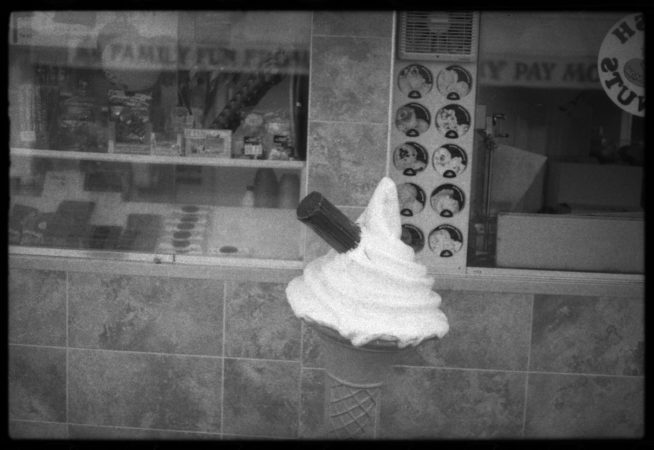 Terry Williams, 'Ice Cream', pinhole photograph, 2017