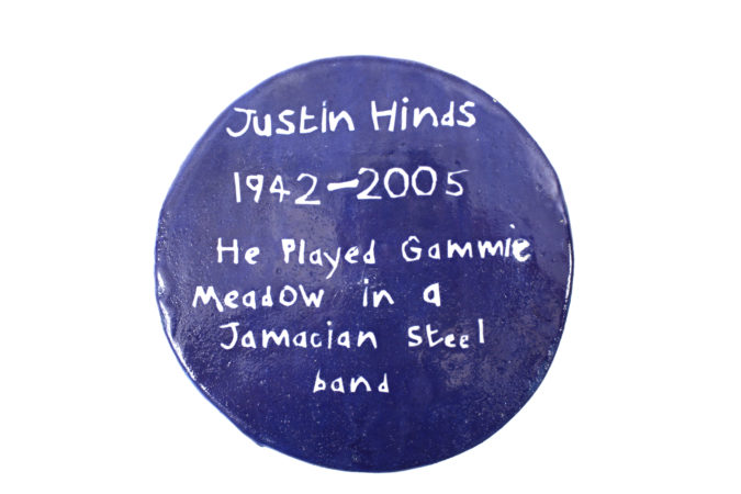 Horace Lindezey, 'Justin Hinds', 2018, ceramics 220x220x7mm