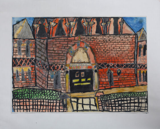 Sally Hirst, 'The Jewish Museum', watercolour, 2013