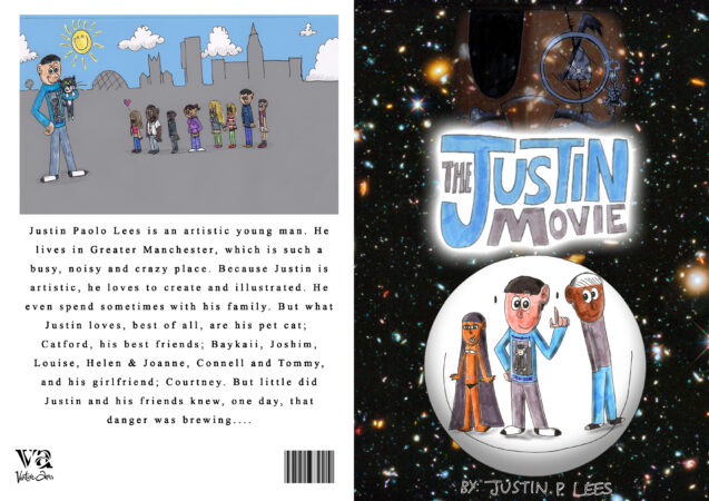 Justin Lees, 'The Justin Movie', cover pages of comic, 2020